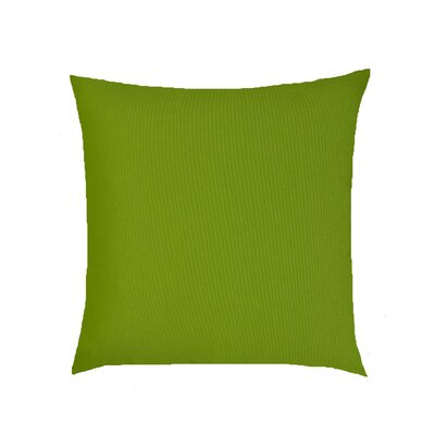 Dover Indoor/Outdoor Knife Edge Sunbrella Throw Pillow Color: Green