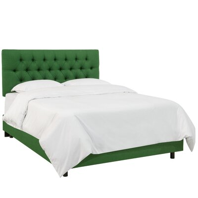 Bailes Polyester Panel Bed Size: King