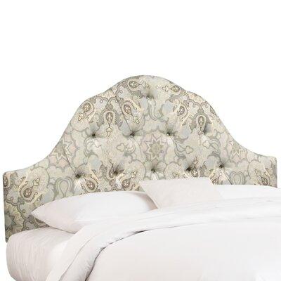 Buckmaster Upholstered Panel Headboard Size: Queen