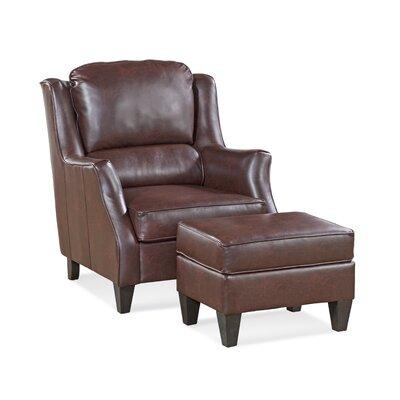 Cornell Ottoman Upholstery: Softie Merlot
