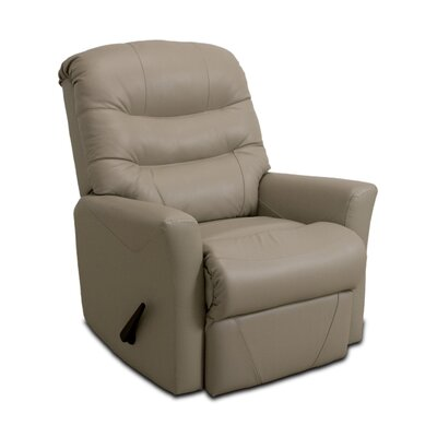 Westchester Leather Manual Rocker Recliner Upholstery: Taupe