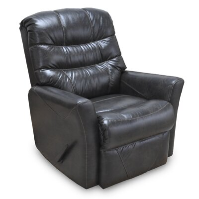 Westchester Manual Rocker Recliner Upholstery: Black