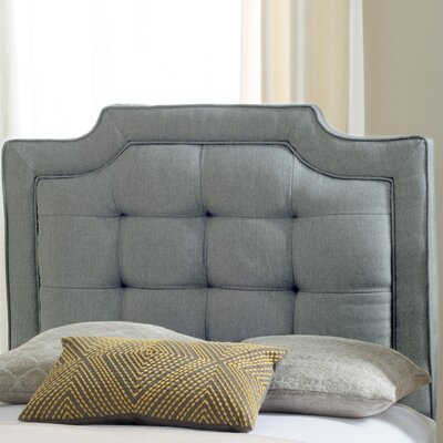 Findlay Upholstered Panel Headboard Size: Twin, Upholstery: Light Gray