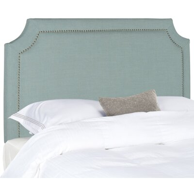 Wellsboro Queen Upholstered Panel Headboard Upholstery: Sky Blue