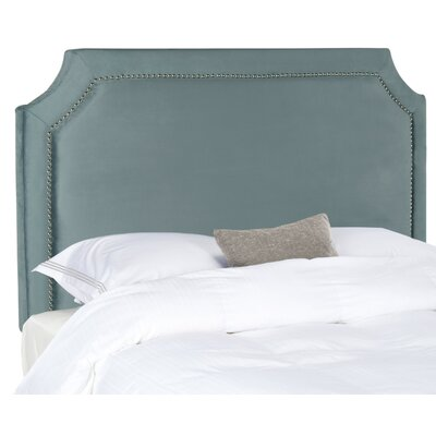 Wellsboro Queen Upholstered Panel Headboard Upholstery: Wedgewood Blue