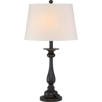 Faldo 28 Table Lamp Base Finish: Palladian Bronze