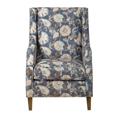 Greenfield Armchair Upholstery: Blue