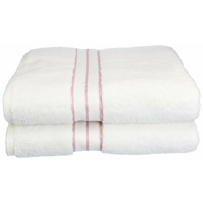 Hotel Bath Towel Color: Tea Rose