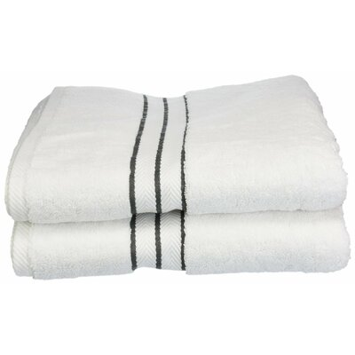 Hotel Bath Towel Set Color: Charcoal