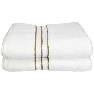 Hotel Bath Towel Color: Latte