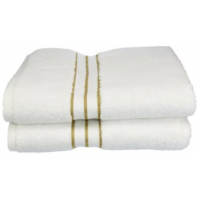 Hotel Bath Towel Set Color: Toast