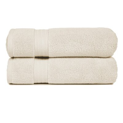 Morton Living Fine Cotton Bath Towel Color: Ivory