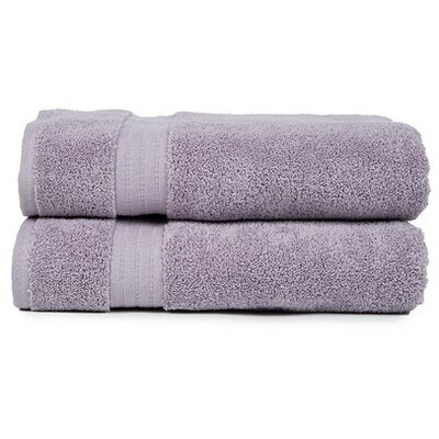 Morton Living Fine Cotton Bath Towel Color: Purple