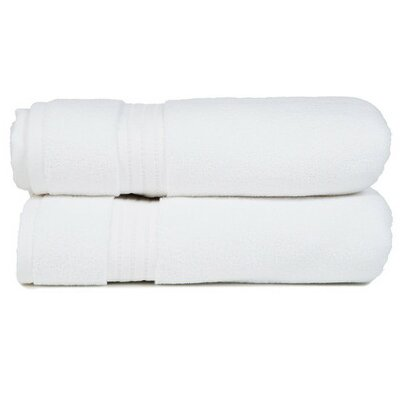 Morton Living Fine Cotton Bath Towel Color: White