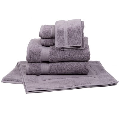 Morton 8 Piece Towel Set Color: Purple
