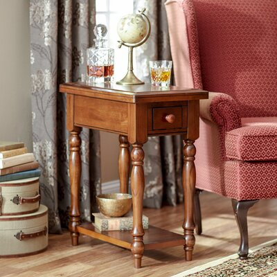 Ivesdale Chairside Table Finish: Derby Brown