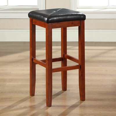 Prabal 29 Bar Stool Finish: Classic Cherry