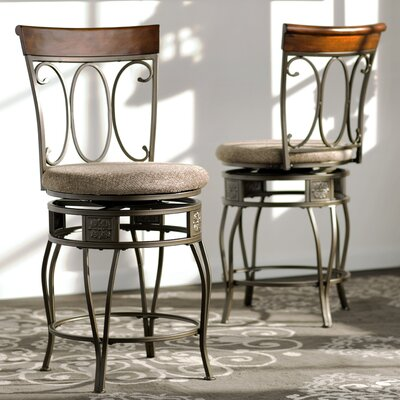 Wilsonville 24 Swivel Bar Stool