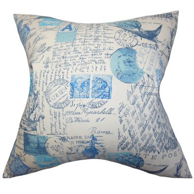 Ginsberg Typography Throw Pillow Cover