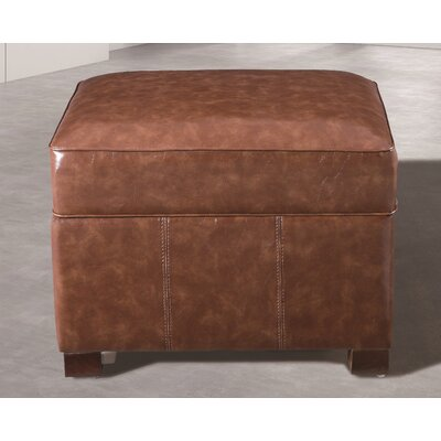 Dail Storage Ottoman Upholstery: Medium Brown