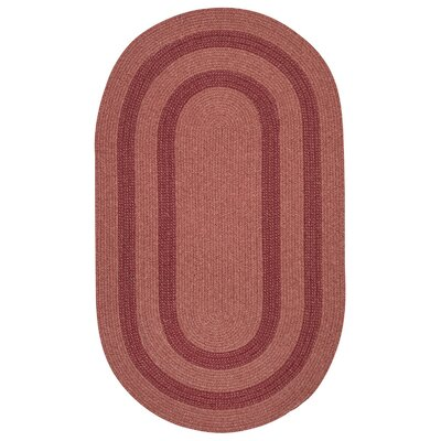 Westfield Red Area Rug Rug Size: Oval 2 x 3