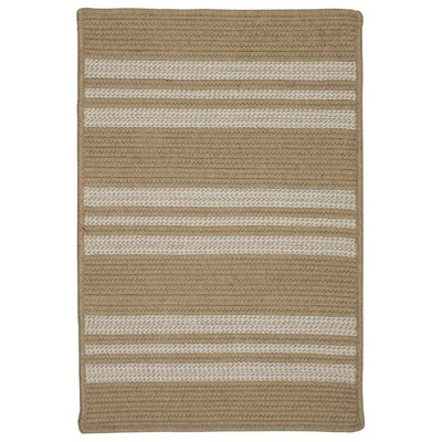 Neponset Hand-Woven Beige Indoor/Outdoor Area Rug Rug Size: 3 x 5
