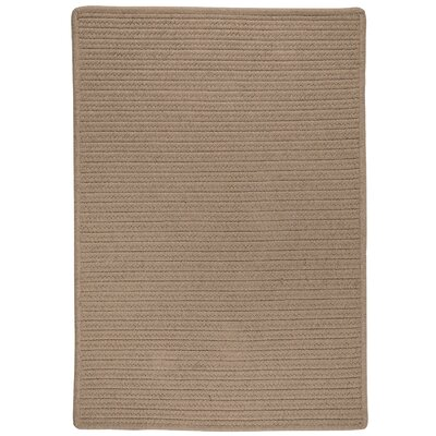Oakland Hand-Woven Brown Indoor/Outdoor Area Rug Rug Size: 5 x 7