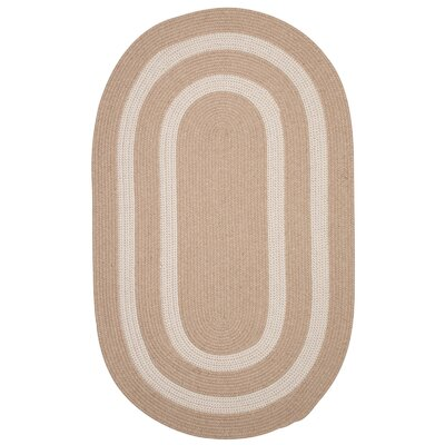 Westfield Beige Area Rug Rug Size: Oval 10 x 13