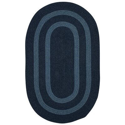 Westfield Blue Area Rug Rug Size: Oval 2 x 3