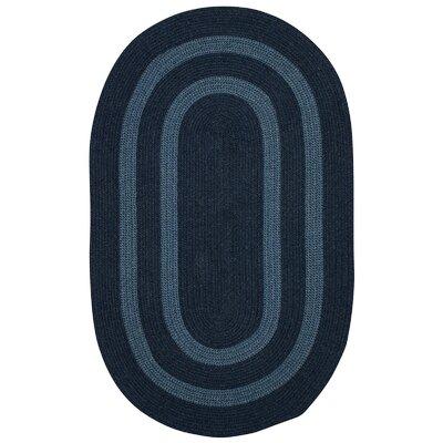 Westfield Blue Area Rug Rug Size: Round 10