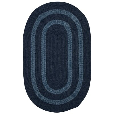 Westfield Blue Area Rug Rug Size: Oval 2 x 4