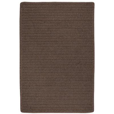 Oakland Hand-Woven Brown Indoor/Outdoor Area Rug Rug Size: 12 x 15