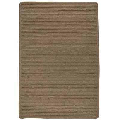 Oakland Hand-Woven Brown indoor/Outdoor Area Rug Rug Size: 8 x 10