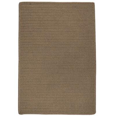 Oakland Hand-Woven Brown indoor/Outdoor Area Rug Rug Size: 6 x 9