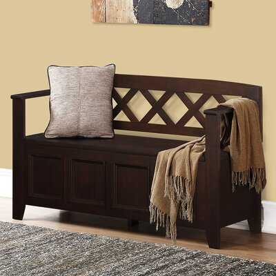 Otterville Wood Storage Entryway Bench