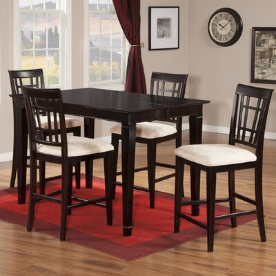 Bluffview 5 Piece Counter Height Dining Set