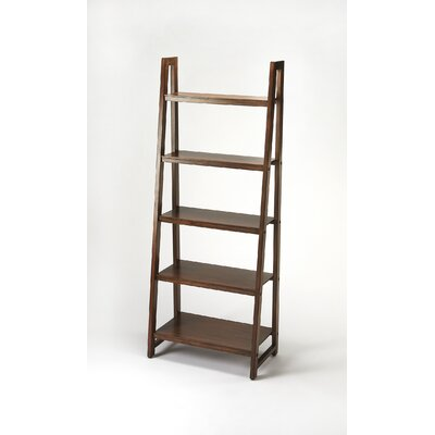 Fairfield 76 Leaning Bookcase