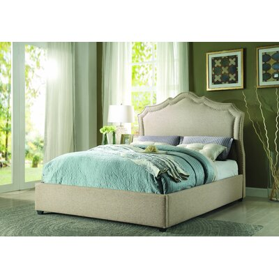 Frankfort Upholstered Platform Bed Size: King
