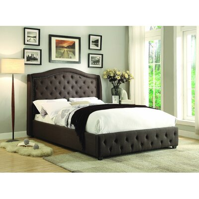 Belia Upholstered Panel Bed Size: Queen