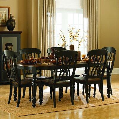 Scottville Extenable Dining Table Base Finish: Black