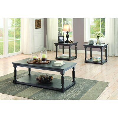 Bloomingdale 3 Piece Coffee Table Set