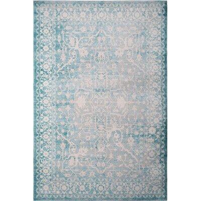 Tallula Blue Area Rug Rug Size: 7'10 x 10'2