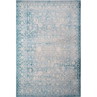 Tallula Blue Area Rug Rug Size: 5'2 x 7'2