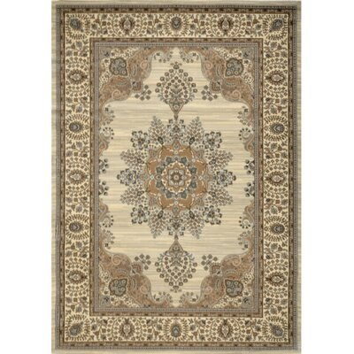 Bluegrass Ivory Area Rug Rug Size: 79 x 102
