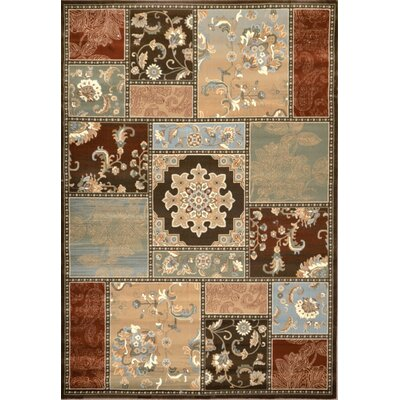 Glenview Beige Area Rug Rug Size: 52 x 76