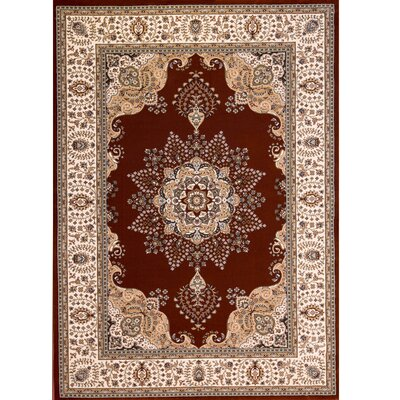 Bluegrass Brown Area Rug Rug Size: 79 x 102