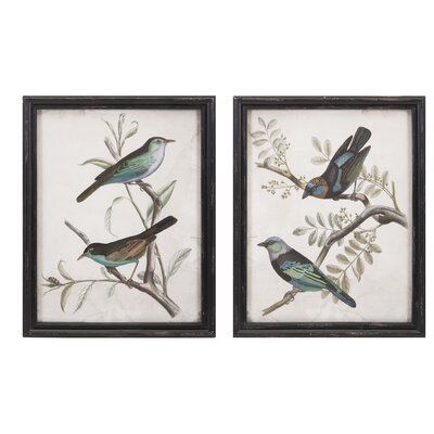 2 Piece Maisly Bird Wall Decor Set