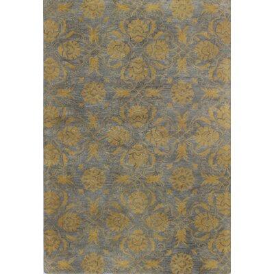 Irvington Hand-Tufted Grey Area Rug Rug Size: 76 x 96