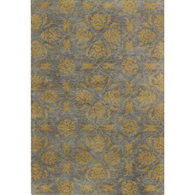 Irvington Hand-Tufted Grey Area Rug Rug Size: 86 x 116