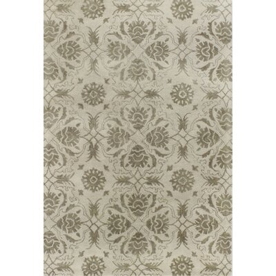 Crainville Hand-Tufted Ivory Area Rug Rug Size: 86 x 116